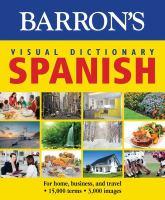 Barron's Visual Dictionary Spanish