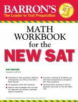 Barron's Math Workbook for the New SAT