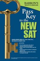 Barron's Pass Key to the New SAT