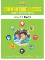 Barron's Common Core Success