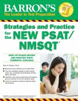 Strategies and Practice for the New PSAT/NMSQT