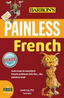 Barron's Painless French