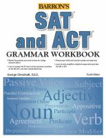 SAT and ACT Grammar Workbook