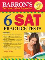 Barron's 6 SAT* Practice Tests