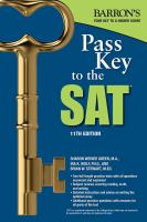 Barron's Pass Key to the SAT