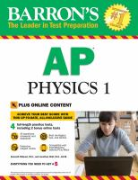 Barron's AP Physics 1