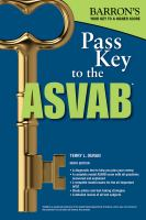 Barron's Pass Key to the ASVAB