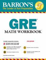 Barron's GRE Math Workbook