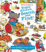 Roger Rhino's Search and Find!