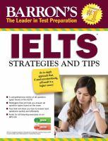 Barron's IELTS Strategies and Tips