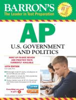 Barron's AP United States Government & Politics