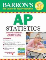 Barron's AP Statistics