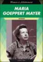 Maria Goeppert Mayer