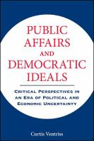 Public Affairs and Democratic Ideals