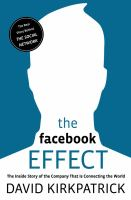 The Facebook Effect