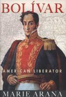 Cover of Bolivar: American Liberato