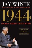 Cover of 1944: FDR and the Year Tha