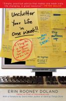 Unclutter your Life in One Week