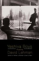 Yeshiva Boys and Other Poems