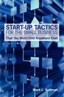 Start-up Tactics for the Small Business