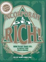 Incorporate & Get Rich!