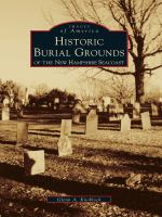 Historic Burial Grounds of the New Hampshire Seacoast