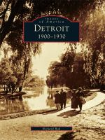 Detroit, 1900-1930