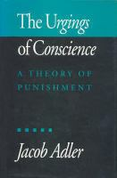 The Urgings of Conscience