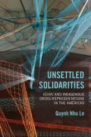 Unsettled Solidarities