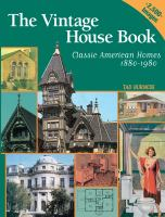 The Vintage House Book