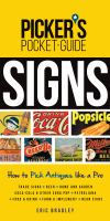 Picker''s Pocket Guide - Signs