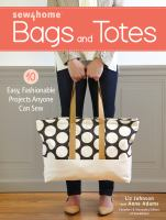 Sew4Home. Bags and Totes