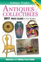 Antique Trader Antiques & Collectibles 2017 Price Guide