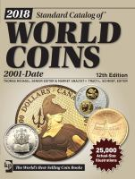 2018 Standard Catalog of World Coins
