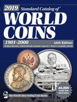 2019 Standard Catalog of World Coins