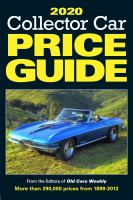 Collector Car Price Guide