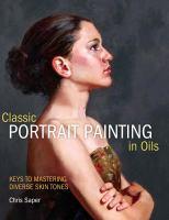 Classic Portrait Painting in Oils