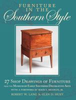 Furniture in the Southern Style