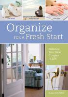 Organize for A Fresh Start