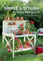 Simple and Stylish Backyard Projects