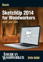 Basic Sketchup 2014 for Woodworkers (DVD)