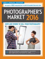 Photographer's Market, 2016