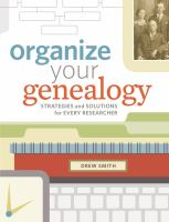 Image: Organize your Genealogy