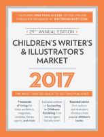 Children's Writer's & Illustrator's Market 2017