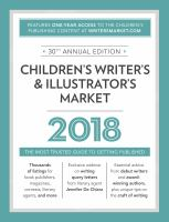 2018 Children's Writer's & Illustrator's Market