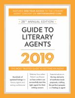 Guide to Literary Agents, 2019