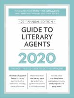 Guide to Literary Agents, 2020