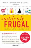 Suddenly Frugal