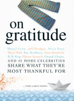 On Gratitude