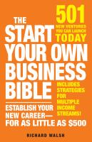 The Start your Own Business Bible